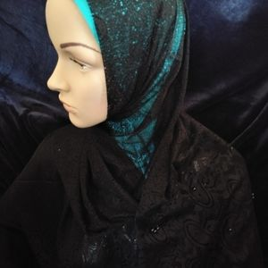 Pearls and Lace Hijab